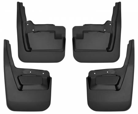 Husky Liners - Husky Liners 19-20 GMC Sierra 1500 Custom-Molded Front and Rear Mud Guards