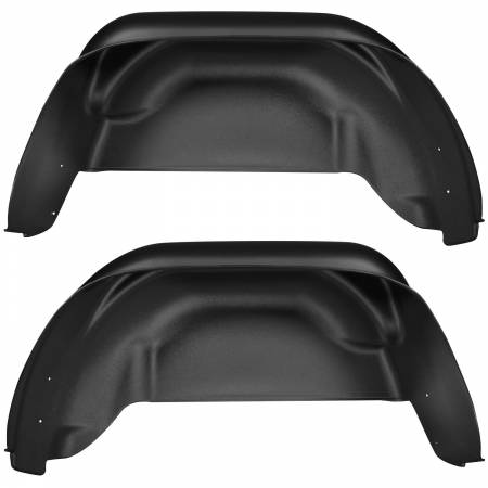 Husky Liners - Husky Liners 15-16 Chevy Colorado Black Rear Wheel Well Guards