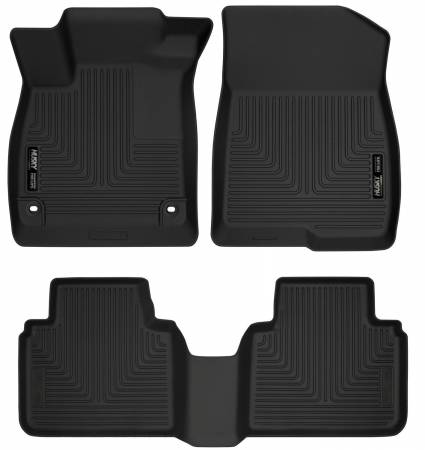 Husky Liners - Husky Liners 2018 Honda Accord WeatherBeater Black Front & 2nd Seat Floor Liners