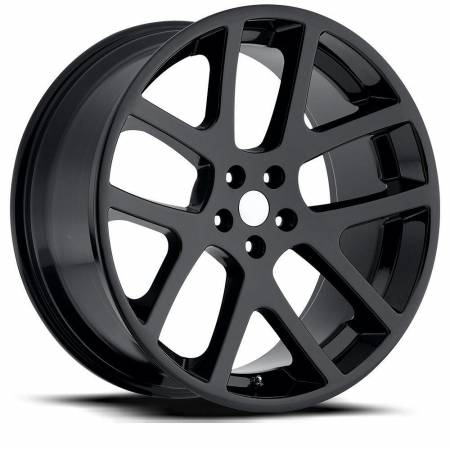 Factory Reproductions Wheels - FR Series 64 Replica Jeep Grand Cherokee Wheel 20X9 5X5 ET35 71.5CB Gloss Black