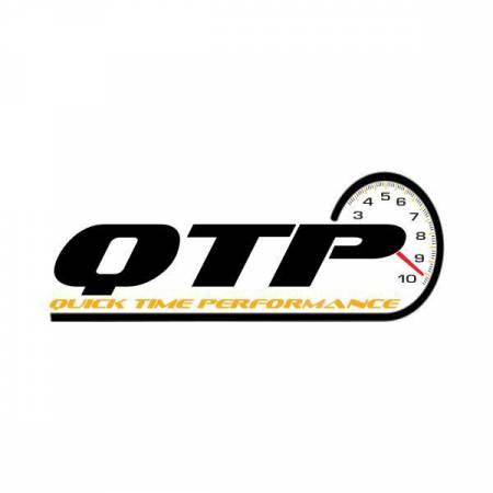 QTP (Quick Time Performance) - QTP 3in Weld-On Reverse 304SS Screamer Muffler Short Case w/Bolt-On QTEC Electric Cutout