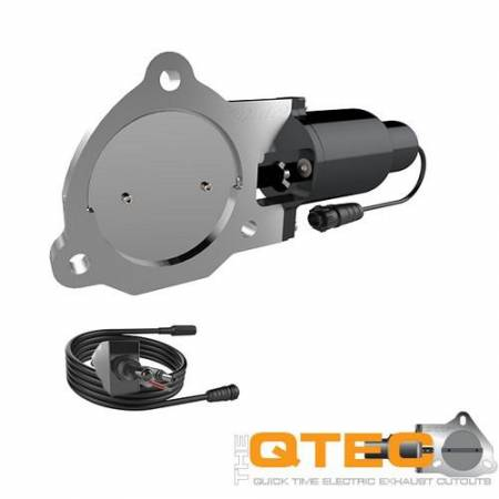 QTP (Quick Time Performance) - QTP 3.5in Bolt-On QTEC Electric Cutout Valve - Single