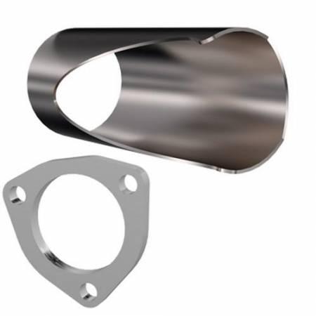 QTP (Quick Time Performance) - QTP 2.75in Weld-On QTEC DIY Cutout Pipe