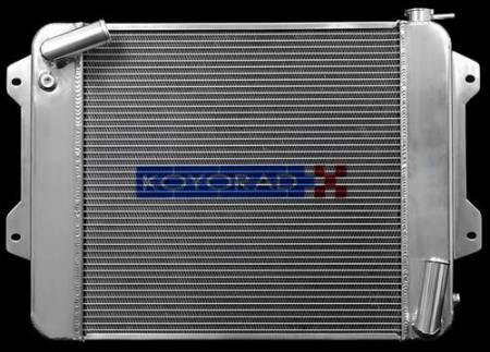 Koyorad Cooling Systems - Koyo R Series Aluminum Radiator 70-73 Datsun 240Z 2.4L I6 (MT)
