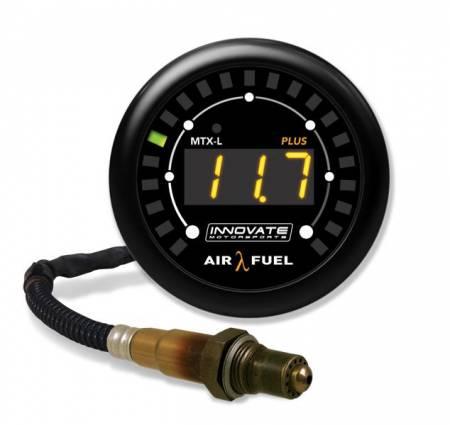 Innovate Motorsports - Innovate Motorsports MTX-L PLUS: Digital Air/Fuel Ratio Gauge Kit (3 Ft. Cable)