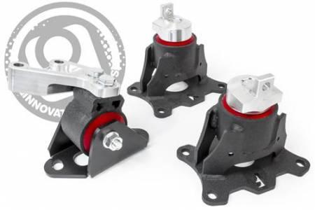 Innovative Mounts - Innovative 04-08 Acura TL J-Series Black Steel Mounts 75A Bushings