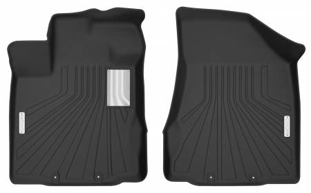 Husky Liners - Husky Liners 17-19 Infiniti Q60 Mogo Black Front Row Floor Liners