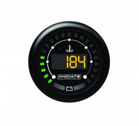 Innovate Motorsports - Innovate Motorsports MTX Digital, Water Temperature & Battery Gauge Kit, Dual Function!