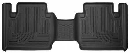 Husky Liners - Husky Liners 12-15 Toyota Tacoma Access Cab X-Act Contour Second Row Seat Floor Liner - Black