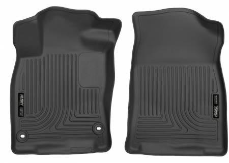 Husky Liners - Husky Liners 16-18 Honda Civic X-Act Contour Black Front Floor Liners