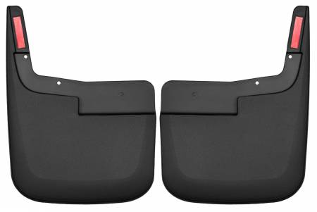 Husky Liners - Husky Liners 2015 Ford F-150 w/o Fender Flares Mud Guards Black Front Mud Guards