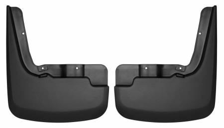 Husky Liners - Husky Liners 2019 Chevrolet Silverado 1500 Front Mud Guards - Black