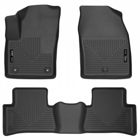 Husky Liners - Husky Liners 2018 Toyota CH-R Weatherbeater Black Front & 2nd Seat Floor Liners