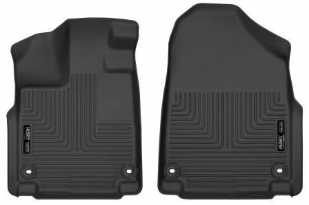 Husky Liners - Husky Liners 2018 Honda Odyssey WeatherBeater Black Front Floor Liners