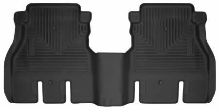 Husky Liners - Husky Liners 2018 Jeep Wrangler 4 Door X-Act Contour Black Floor Liners (2nd Seat)