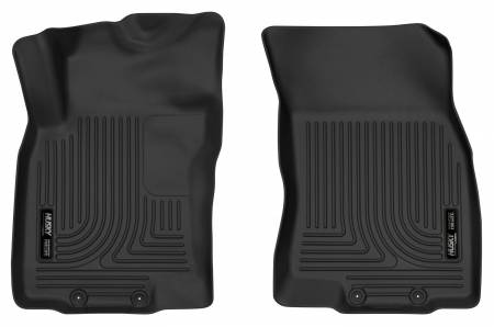 Husky Liners - Husky Liners 14-18 Nissan Rogue / 14-15 Nissan X-Trail X-Act Contour Black Front Floor Liners