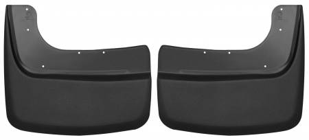 Husky Liners - Husky Liners 2017 Ford F350 SuperDuty Custom-Molded Front Mud Guards (w/o Fender Flares)