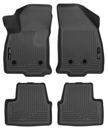 Husky Liners - Husky Liners 2016 Chevrolet Volt WeatherBeater Combo Black Floor Liners
