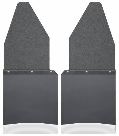 Husky Liners - Husky Liners Ford 88-16 F-150/88-99 F-250 12in W Black Top SS Weight Kick Back Front Mud Flaps