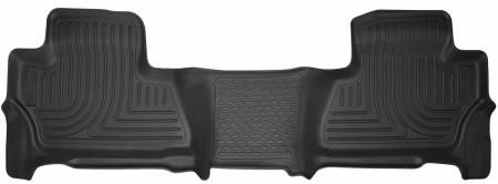 Husky Liners - Husky Liners 2015 Chevrolet Suburban / Yukon X-Act Contour Black Floor Liners (2nd Seat)