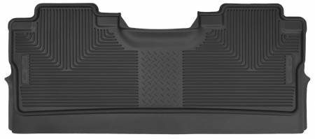 Husky Liners - Husky Liners 2015 Ford F-150 SuperCrew Cab X-Act Contour Black 2nd Seat Floor Liners