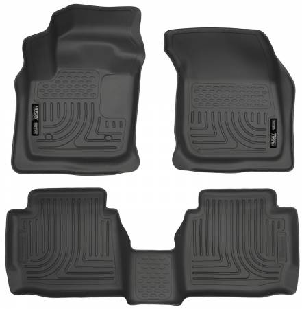 Husky Liners - Husky Liners 13 Ford Fusion WeatherBeater Combo Black Floor Liners