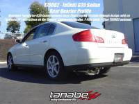 Tanabe - Tanabe Medalion Touring Exhaust System for 03-04 Infiniti G35 Sedan - Image 2