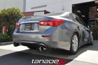 Tanabe - Tanabe Medalion Touring Exhaust System for 14-14 Infiniti Q50 2WD - Image 2