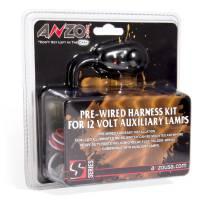 Anzo USA - ANZO 12V Wiring Kit Universal 12V Auxiliary Wiring Kit w/ Illuminated Switch - Image 2