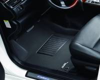 3D MAXpider (U-Ace) - 3D MAXpider FLOOR MATS FORD F-150 2010-2014 REGULAR/ SUPERCAB/ SUPERCREW KAGU BLACK R1 (2 POSTS, WITH HEATING DUCT, NOT FIT 4X4 M/T FLOOR SHIFTER) - Image 2