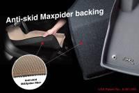 3D MAXpider (U-Ace) - 3D MAXpider FLOOR MATS TOYOTA PRIUS 2010-2011 KAGU BLACK R1 (HOOKS) - Image 6