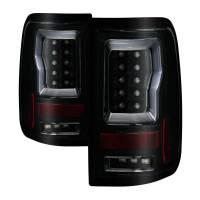 Spyder Auto - Spyder Ford F150 Styleside 04-08 (Not Fit Heritage & SVT) Version 2 Light Bar LED Tail Lights - Black Smoke - Image 1