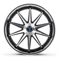 Rohana Wheels - Rohana Wheels Rim RC10 19x9.5 5x114 40ET Machine Black/Chorme Lip - Image 1