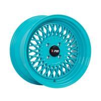 F1R Wheels - F1R Wheels Rim F01 15x8 4x100 ET25 Teal - Image 1