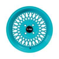F1R Wheels - F1R Wheels Rim F01 15x8 4x100 ET25 Teal - Image 2