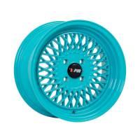 F1R Wheels - F1R Wheels Rim F01 15x8 4x100 ET25 Teal - Image 3