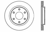 StopTech - StopTech Slotted & Drilled Sport Brake Rotor - Image 2
