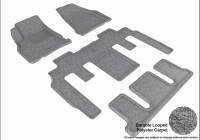 3D MAXpider (U-Ace) - 3D MAXpider FLOOR MATS CHEVROLET TRAVERSE WITH BUCKET 2ND ROW 2009-2017 CLASSIC GRAY R1 R2 R3 - Image 1