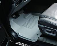 3D MAXpider (U-Ace) - 3D MAXpider FLOOR MATS FORD F-150 2010-2014 REGULAR/ SUPERCAB/ SUPERCREW KAGU GRAY R1 (2 POSTS, WITH HEATING DUCT, NOT FIT 4X4 M/T FLOOR SHIFTER) - Image 2