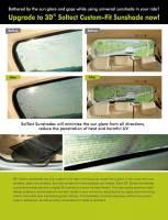3D MAXpider (U-Ace) - 3D MAXpider BMW 3 SERIES (E90) SEDAN 2006-2011 SOLTECT SUNSHADE SIDE & REAR WINDOW - Image 5