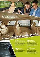 3D MAXpider (U-Ace) - 3D MAXpider AUDI Q5 2009-2017 SOLTECT SUNSHADE SIDE & REAR WINDOW - Image 4