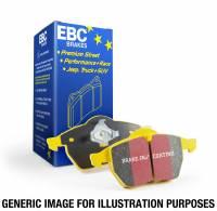 EBC Brakes - EBC 92-03 Am General H1 Yellowstuff Front Brake Pads - Image 3