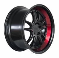F1R Wheels - F1R Wheels Rim F102 18x8.5 5x100 ET38 Gloss Black/Red Lip - Image 3