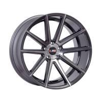 F1R Wheels - F1R Wheels Rim F27 18x8.5 5x112/114.3 ET45 Machined Gunmetal - Image 1