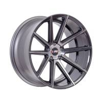 F1R Wheels - F1R Wheels Rim F27 18x8.5 5x112/114.3 ET45 Machined Gunmetal - Image 3