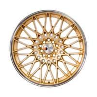 F1R Wheels - F1R Wheels Rim F23 18x10.5 5x100/114.3 ET40 Gold/Polish Lip - Image 2