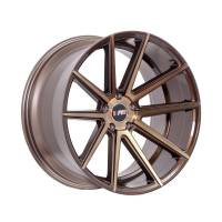 F1R Wheels - F1R Wheels Rim F27 18x8.5 5x100/114.3 ET40 Machined Bronze - Image 3