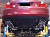 Megan Racing - Megan Racing Axle Back Exhaust System: Infiniti M35/45 2006-2010 AWD/RWD - Image 2