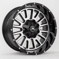 American Off-Road Wheels - American Off-Road Wheels Rim A105 20x10 8x170 ET-24 125.2CB Black Machined - Image 2
