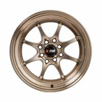 F1R Wheels - F1R Wheels Rim F03 15x8 4x100/114.3 ET25 Machined Bronze - Image 2